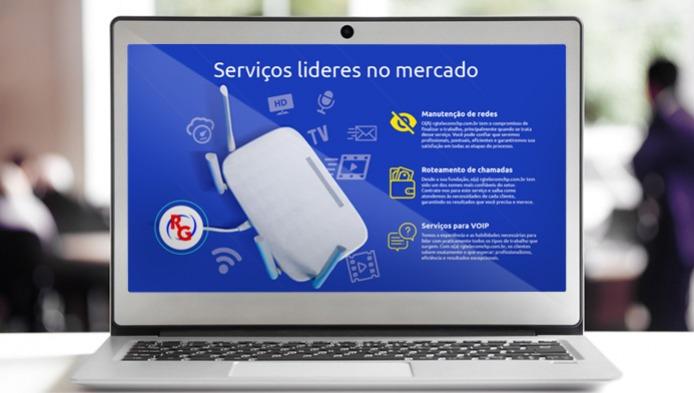 Site de Provedores de Internet - RG Telecom em Chupinguaia, RO