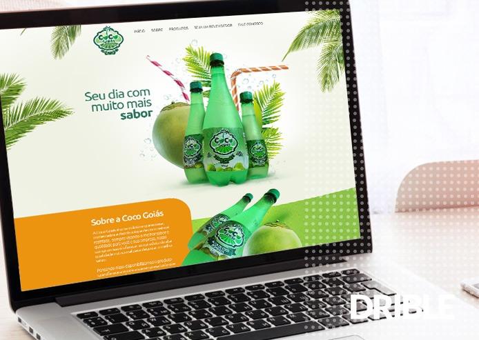 Site de Provedores de Internet - Coco Goiás - Água de Coco Natural