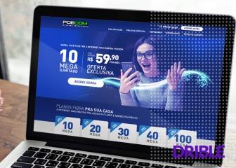 Site de Provedores de Internet - POECOM Telecom - São Paulo, SP