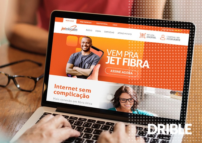 Site de Provedores de Internet - Jet Telecom em Brasília, DF