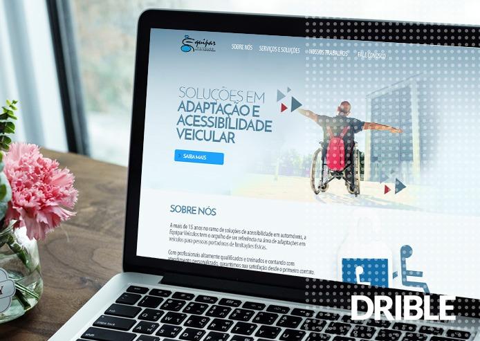 Desenvolvimento de website institucional