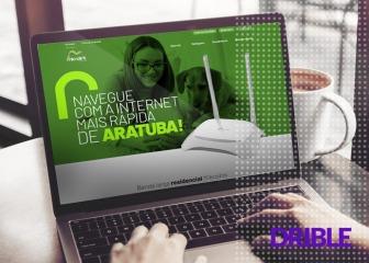 Site de Provedores de Internet - Microlink Telecom
