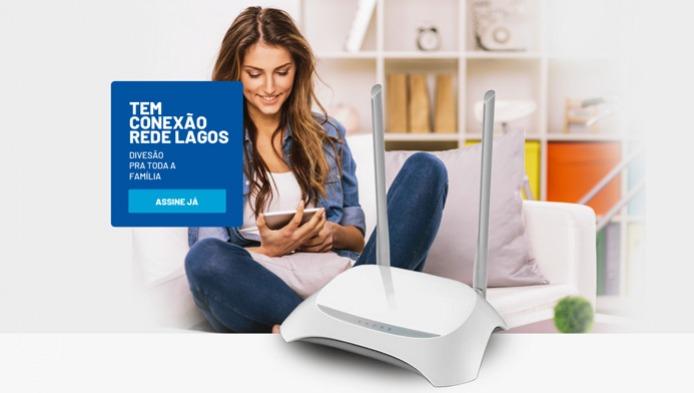 Site de Provedores de Internet - Rede Lagos Telecom